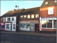 526 SF High Street Shop for Rent  |  Darwin House, Burntwood, WS7 3XE