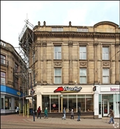 2,494 SF High Street Shop for Rent  |  41 - 43 High Street, Sheffield, S1 2GB
