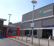 237 SF Shopping Centre Unit for Rent  |  The Kiosk, Greenwell Road, Newton Aycliffe, DL5 4DH