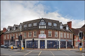 3,040 SF High Street Shop for Rent  |  Saddlers Court, Solihull, B91 3DX