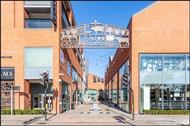 585 SF Shopping Centre Unit for Rent  |  Unit 15, Old Market, Hereford, HR4 9HR