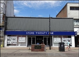 4,288 SF High Street Shop for Rent  |  586 - 588 Christchurch Road, Bournemouth, BH1 4BH