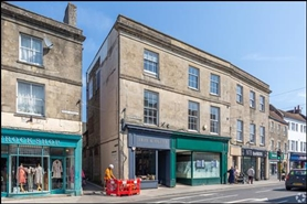 761 SF High Street Shop for Rent  |  Unit 2, Warminster, BA12 9AY