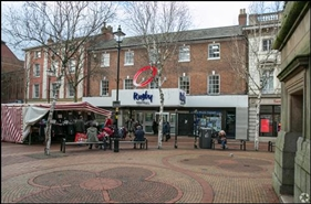 2,906 SF Shopping Centre Unit for Rent  |  Unit 36, Rugby Central Shopping Centre, Rugby, CV21 2JR