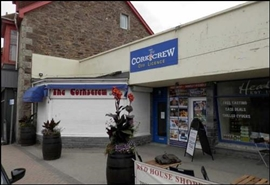 479 SF High Street Shop for Rent  |  Unit 1, Red House Centre, Perranporth, TR6 0EW