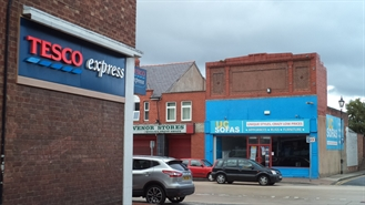 1,545 SF High Street Shop for Rent  |  33 Chester Street, Flint, CH6 5BL
