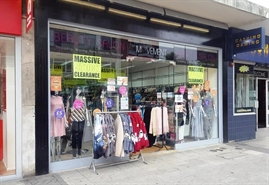 1,201 SF High Street Shop for Rent  |  87 Above Bar Street, Southampton, SO14 7FG