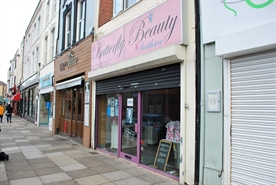 439 SF High Street Shop for Rent  |  19 Albert Road, Southsea, PO5 2SE