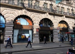 2,604 SF High Street Shop for Rent  |  23 - 26 Piccadilly, Le Meridien Piccadilly Hotel, London, W1J 0DJ