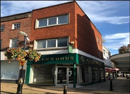 454 SF High Street Shop for Rent  |  61 Ironmarket, Newcastle Under Lyme, ST5 1PE