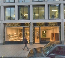 1,650 SF High Street Shop for Rent  |  83-85 Wigmore Street, London, W1U 1DL
