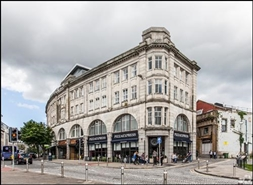 926 SF High Street Shop for Rent  |  Castle Arcade, Swansea, SA1 1HY