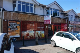 2,263 SF High Street Shop for Rent  |  16-18 The Parade, Bournemouth Road, Chandlers Ford, SO53 3DB