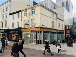 820 SF High Street Shop for Rent  |  29 Commercial Street, Leeds, LS1 6EX