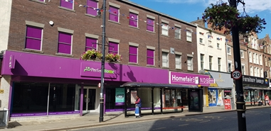 2,912 SF High Street Shop for Rent  |  59 Fawcett Street, Sunderland, SR1 1SE