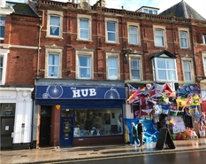 1,006 SF High Street Shop for Rent  |  3 Rolle Street, Exmouth, EX8 1HL