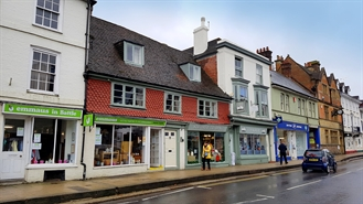 904 SF High Street Shop for Sale  |  13/14 High Street, Battle, TN33 0AE