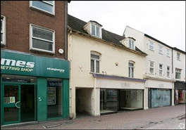 1,517 SF High Street Shop for Rent  |  25 Commercial Street, Hereford, HR1 2DE
