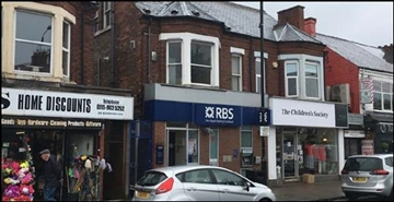 889 SF High Street Shop for Sale  |  896 Woodborough Road, Mapperley, NG3 5QR
