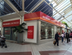 3,807 SF Shopping Centre Unit for Rent  |  27-27a The Mall, Mill Gate Shopping Centre, Bury, BL9 0QQ