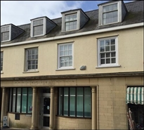 1,043 SF High Street Shop for Rent  |  Former Barclays Bank, Axminster, EX13 5NT