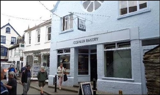 290 SF High Street Shop for Rent  |  25 Fore Street, Fowey, PL23 1AH