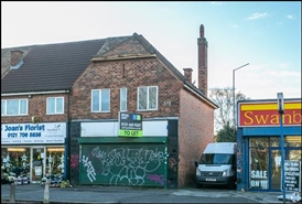 416 SF Out of Town Shop for Rent | 1725 Coventry Road, Birmingham, B26 1DT