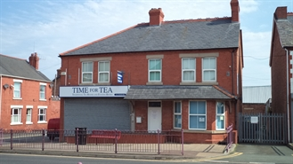 790 SF High Street Shop for Rent  |  84 Chester Road West, Shotton, Deeside, CH5 1BZ