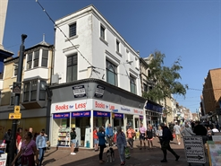 1,871 SF High Street Shop for Rent  |  87 St. Mary Street, Weymouth, DT4 8NY