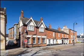 6,470 SF High Street Shop for Rent  |  The Naseby Hotel, Kettering, NN16 0AN