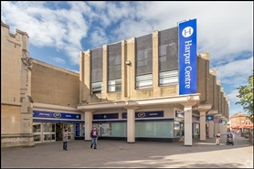 541 SF Shopping Centre Unit for Rent  |  Unit 4, Harpur Centre, Bedford, MK40 1TJ
