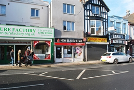 436 SF High Street Shop for Rent  |  11 London Road, Portsmouth, PO2 0BQ