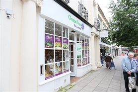 521 SF High Street Shop for Rent  |  17 Pittville Street, Cheltenham, GL52 2LN