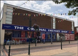 7,772 SF High Street Shop for Rent  |  The Original Factory Shop, Buckley, CH7 2ED
