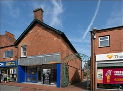 1,139 SF High Street Shop for Rent  |  34 Oxford Street, Ripley, DE5 3AP