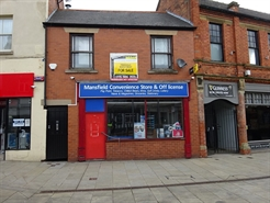 335 SF High Street Shop for Rent  |  35A Church Street, Mansfield, NG18 1AF