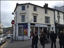 1,834 SF High Street Shop for Rent  |  5 Frogmore Street, Abergavenny, NP7 5AE
