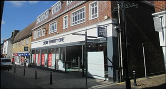 6,203 SF High Street Shop for Rent  |  40 - 42 High Street, Royston, SG8 9AG
