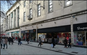 3,129 SF High Street Shop for Rent  |  Unit 3, Queens West Centre, Cardiff, CF10 2AQ