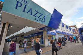 1,285 SF Shopping Centre Unit for Rent  |  Unit 35, The Piazza Shopping Centre, Huddersfield, HD1 2RS