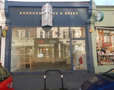 350 SF High Street Shop for Rent  |  51 Turnham Green Terrace, Chiswick, W4 1RP