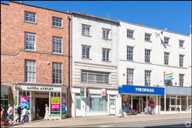 1,340 SF High Street Shop for Rent  |  106 Parade, Leamington Spa, CV32 4AQ