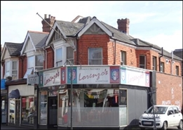 900 SF High Street Shop for Rent  |  104 Charminster Road, Bournemouth, BH8 8UT
