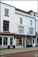 363 SF High Street Shop for Rent  |  4 West Street, Chichester, PO19 1QD