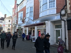 1,900 SF High Street Shop for Rent  |  2/3 West Street, Horsham, RH12 1PB