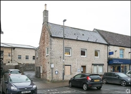 1,260 SF High Street Shop for Rent  |  1 The Island, Radstock, BA3 2HQ