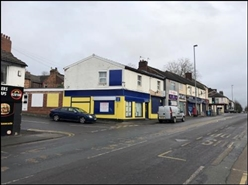 1,116 SF High Street Shop for Rent  |  John Street, Newcastle Under Lyme, ST5 1JU