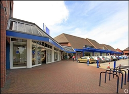10,000 SF Shopping Centre Unit for Rent  |  Unit C, The Market Shopping Centre, Crewe, CW1 2NG
