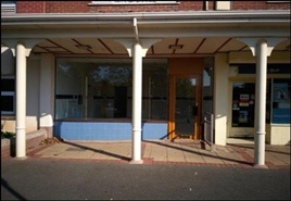 378 SF High Street Shop for Rent   2 Priorswood Place, Taunton, TA2 7JW
