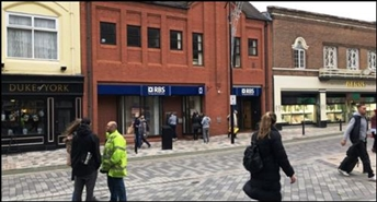 1,236 SF High Street Shop for Rent  |  37 Princess Street, Wolverhampton, WV1 1HD
